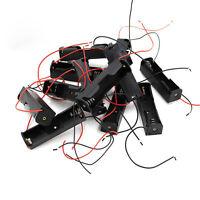 5 stück mode beliebte batterie case halter für 18650 li-ion batterien cell 3,7 v