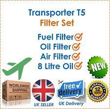 Für VW Transporter T5 Service Kit1.9TDi 2.0TDi 2.5TDi Luft Kraftstoff & Öl