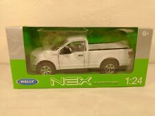 Welly 2015 Ford F-150 Regular Cab Pickup Truck 1:24 Diecast # 24063 White