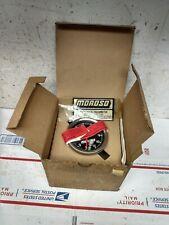Vintage Nos Moroso 11000 Rpm Tachometer Cable Drive Mechanical Tach