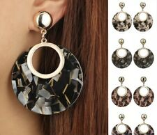 Multi Black Round Earrings Acrylic Kendra + Chloe Design By Isabel j Scott