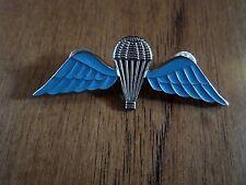 """British Military Jump Wings Badge 2 7/8"""" Double Post Metal Pin"""