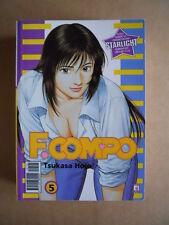 F. COMPO Tsukasa Hojo Vol. 5 edizione Star Comics [G371A]