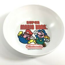 RARE 1989 Nintendo of America Inc Super Mario Bros Cereal Bowl Peter Pan Inc USA
