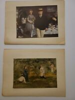 Vintage 1950/60s - 2 European Prints UNSIGNED Munich & Frankfurt