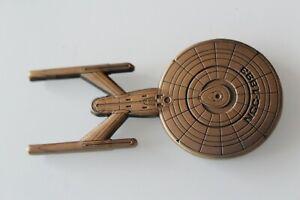 US Navy Chief CPO USN Star Trek NCC-1893 Challenge Coin