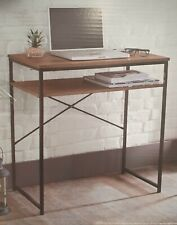 Tromso Wooden Coffee Table Computer Laptop Desk With Undershelf Office Classroom