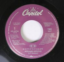 90'S Rap 45 Hammer - Addams Groove / Instr. On Capitol