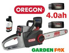 Risparmiatori (2 Batterie & Olio) Oregon Motosega CS300 4.0ah 36V 573019 5400 182213956