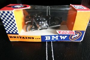 BRITAINS BMW 600cc Motorcycle 9694 1.32, BOXED from new 1960's!