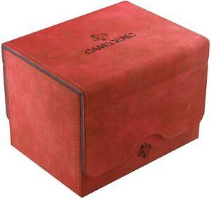 Sidekick 100+ Card Convertible Deck Box: Red GameGenic Asmodee NEW
