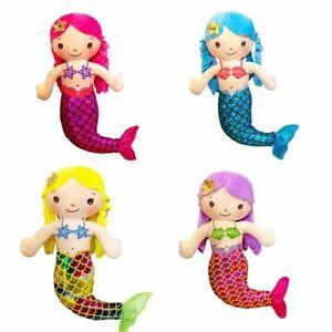 30cm Mini Cartoon Mermaid Plush Doll Toy Doll Mini Cute Pillow Princess Ragdoll