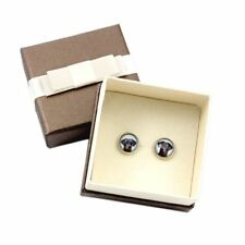 Doberman Uncropped. Earrings with box. Photojewelry. Handmade. Ca