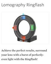 Lomography Ring Flash 35 mm Photography, Analogique Professional Pictures