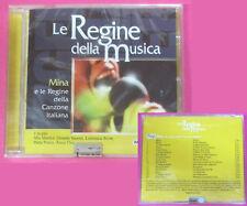 CD Compilation Mina e Le Regine Della Canzone italiana BERTE' no lp mc vhs(C43)