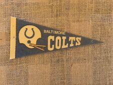 "Vintage Baltimore Colts 9""x4"" 1970's Pennant. Good condition"