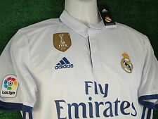 REAL MADRID *MODRIC* HOME SHIRT * WC 2016 GOLD BADGE * 2016-17 SIZE XXLARGE BNWT