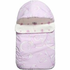 62c0b7464 NWT NEW Young Versace Baby girls lilac baroque print logo sleeping bag nest