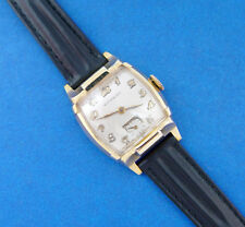 *SERVICED* MEN's WITTNAUER(by LONGINES) 40's ** MAJESTIC GOTHIC  EXCELLENT CASE