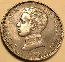 Spain - Alfonso XIII - Peseta - 1903(03) - KM-721 -Choice Extra Fine Silver Coin