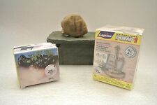 LOT Laguna Tabletop Pump Stone Fountain Mist Fogger Smoker Rock Garden Statuary
