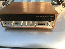 Sansui Solid State Tuner Amp Vintage Receiver Model 2000X Wood Made In Japan