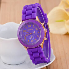 NEW Mens Gents Womens Ladies Girls Silicon / Rubber GENEVA Wrist Watch UNISEX