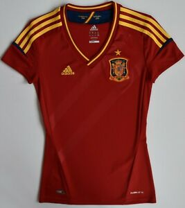 Jersey Womens Spain Adidas ClimaCool Euro 2008 Campeones 1964 Football Shirts