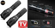Tactical Flashlight, Wowlite 1600 LM Ultra Bright - CREE XML T6 LED 2 pack
