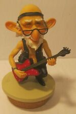 Westland Giftware Coots Resin Figurine Lid Only from Jar Guitar Man! Excellent