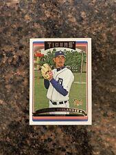Justin Verlander 2006 Topps Rookie (RC) Baseball Card #641 Detroit Tigers