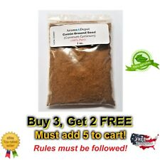 1 oz Cumin Seed Ground Powder Cuminum Cyminum Natural India Organic Comino Polvo