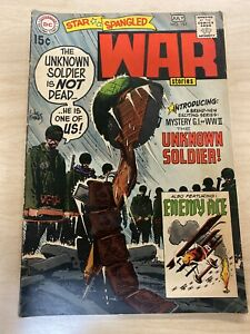 Star Spangled War Stories # 151. 7.0(f/vf) Condition. 1st Solo App. Unknown...