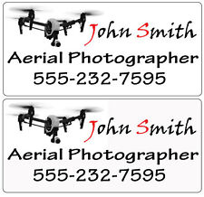 DJI Inspire 1 Quadcopter/Drone Custom Decal Pair For Vehicle Aerial Photography