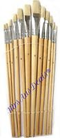 Set of 12 Artist Brushes for Oil Acrylic or Watercolour Paint Art Craft  Brushes