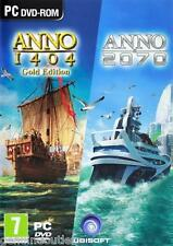 ANNO 2070 and ANNO 1404 GOLD EDITION DOUBLE PACK SEALED NEW