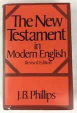 The New Testament in Modern English Revised Ed. JB Phillips Hardcover DJ 1976 R1