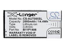 2000mAh battery for Asus PadFone X Mini 4.5 PadFone X Mini 4.5 4G PF450CL T005