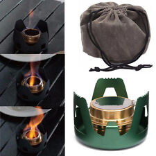 Mini Portable Spirit Burner Alcohol Stove Furnace Outdoor Backpacking Hiking