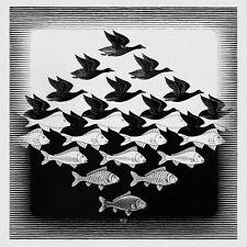 Escher # 38 cm 35x35 Poster Stampa Grafica Printing Digital Fine Art papiarte