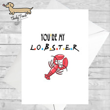 Greeting Card / Funny Cards / FRIENDS Theme / Lobster / Phoebe / G1