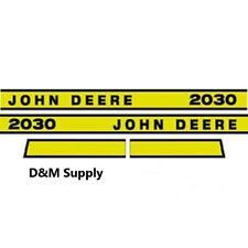 John Deere 2030E tractor decal set