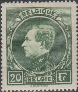 Belgium  Royalty Scott # 213  Hinged  Value $ 100.00