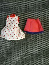 SINDY PATCH DOLLS DRESS & SKIRT WITH LABELS