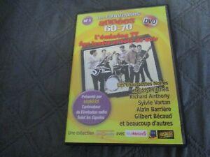 """DVD """"AGE TENDRE ET TETE DE BOIS"""" Les Chaussettes Noires R. ANTHONY Sylvie VARTAN"""