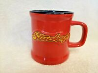 Stuckey's Advertising Coffee Mug red yellow blue age unknown Pecan Candies Candy