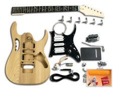 "Bricolaje Guitarra Kit - ""Actualizado"" Ibanez Jem, Ébano / Cromado"