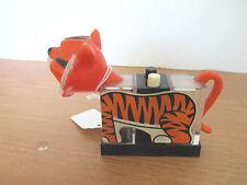 Vintage 1974 Whirley Ind.~TIGER SALT & PEPPER SHAKER SET~1 Piece