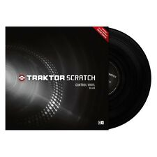 New Native Instruments Replacement Traktor Scratch Control Vinyl BLACK SINGLE