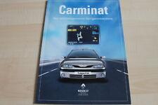 118432) Renault Safrane Laguna - Carminat - Prospekt 04/1998
